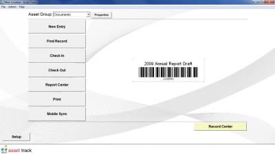 Asset Track Asset Tracking Software 8.0 screenshot
