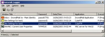 Asterisk Logger 1.04 screenshot