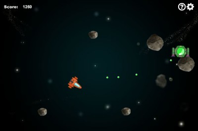 Asteroids 1.8.1 screenshot