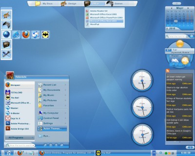 Aston 2.0.3 screenshot