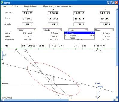 AstroNav 1.1.6 screenshot