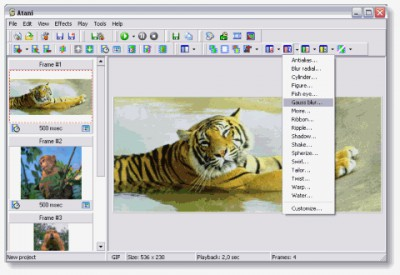 Atani 4.5.2 screenshot