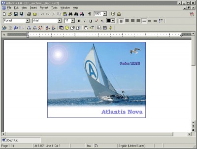 Atlantis Nova 1.0.0.71 screenshot