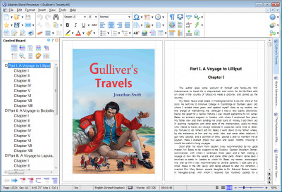 Atlantis Word Processor 3.3.0.1 screenshot