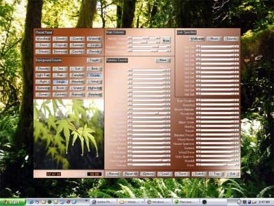 Atmosphere Deluxe: Nature Sounds Effects Generator 5.4 screenshot