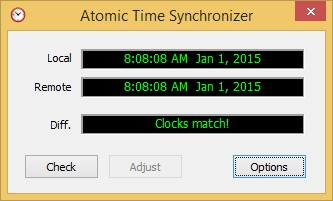 Atomic Time Synchronizer 10 screenshot