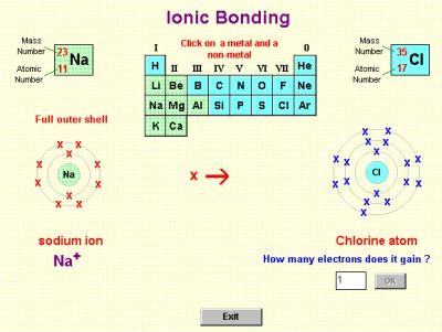 Atoms, Bonding and Structure 2.0 screenshot