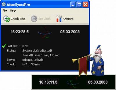 AtomSync 2.12 screenshot