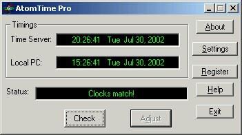 AtomTime Pro 3.1d screenshot