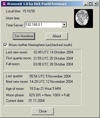 Atomzeit 1.1 screenshot