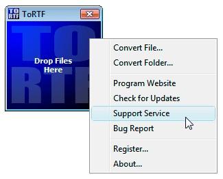 Atrise ToRTF 3.1.0 screenshot
