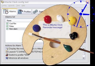 Attache Transparent Clock 1.7 screenshot
