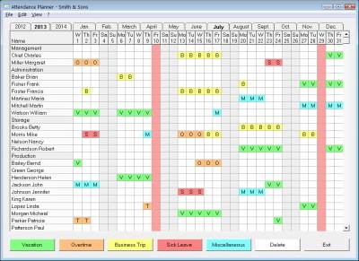 Attendance Planner 1.15.7 screenshot