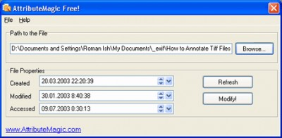AttributeMagic 1.0.3 screenshot