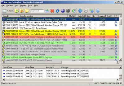 Auction Defender 3.2.0.8 screenshot