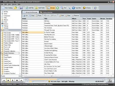 Audio Catalog 4.8 screenshot