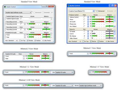Audio Control 4.0.0.0 screenshot