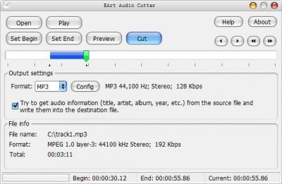 Audio Cutter Free 4.0 screenshot