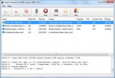 Audio Extractor for Free 9.7.3 screenshot
