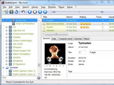 AudioExpert 14.1.0.149 screenshot