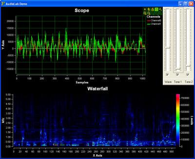 AudioLab VC++ 5.0.3 screenshot