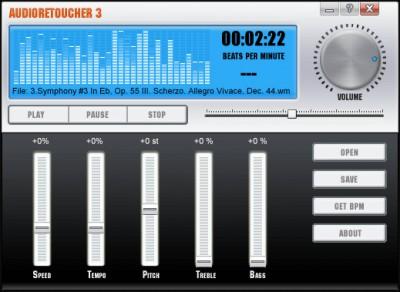 AudioRetoucher 5.1.0.0 screenshot
