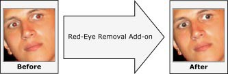 Aurigma Red-Eye Removal Add-on 5.5 screenshot