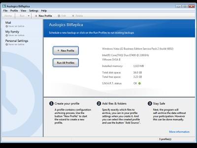 Auslogics BitReplica 2.2.0.0 screenshot