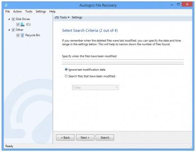 Auslogics File Recovery 9.2.0.3 screenshot