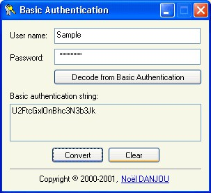 Authentication 1.03 screenshot