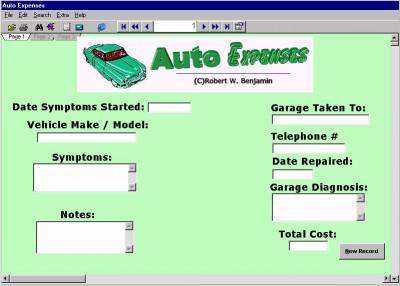 Auto Expenses 9.0 screenshot