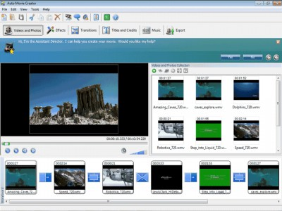 Auto Movie Creator 3.26 screenshot