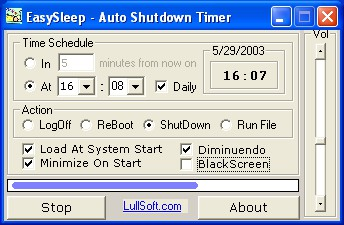 Auto Shutdown Timer - EasySleep 3.0.0 screenshot