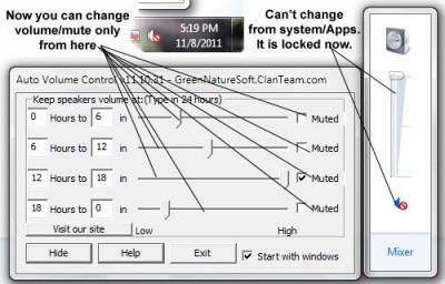 Auto Volume Control 12.05.17 screenshot