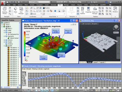 AutoFEM Forced Oscillations Analysis 1.7 screenshot
