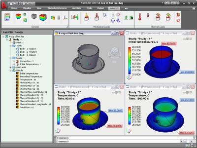 AutoFEM Thermal Analysis 1.7 screenshot