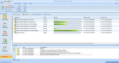 Automatic Backup Scheduler for MySQL 5.8 screenshot