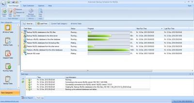 Automatic Backup Scheduler for MySQL 5.8 screenshot