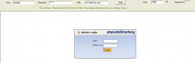 Automatic PhpLd Directory Approval 1.01 screenshot