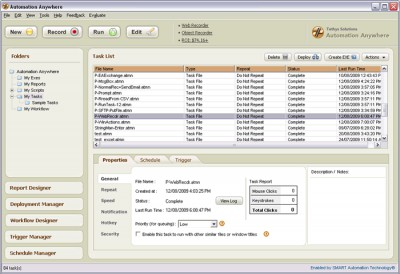 Automation Anywhere Enterprise 5.5 screenshot