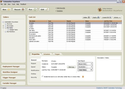 Automation Anywhere 6.0 screenshot