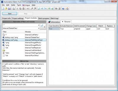 Automation Batch Tools 3.3.0 screenshot