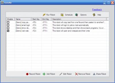 AutoMe 7.0 screenshot