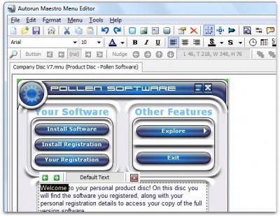 Autorun Maestro 8.1 screenshot