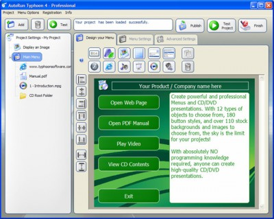 AutoRun Typhoon 4.4.0 screenshot