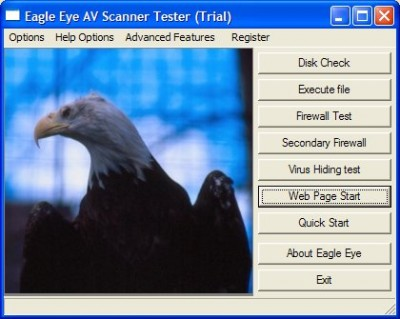 AV EAGLE Secuity Testing Suite CD .ISO 3.10 screenshot