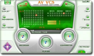AV Voice Changer Software (fr) 4.0.77 screenshot