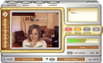 AV Webcam Morpher Gold 1.0.75 screenshot