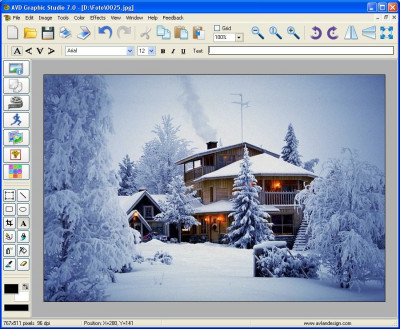 AVD Graphic Studio 7.1.05 screenshot