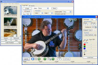 AVD Video Processor 8.3.05 screenshot